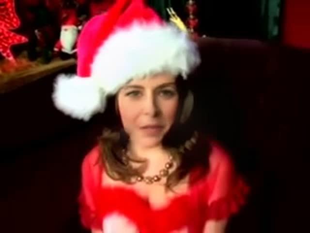 Jenna Fischer Sexy Christmas