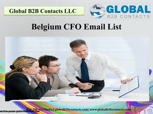 Belgium CFO Email List : u/DaynaIola