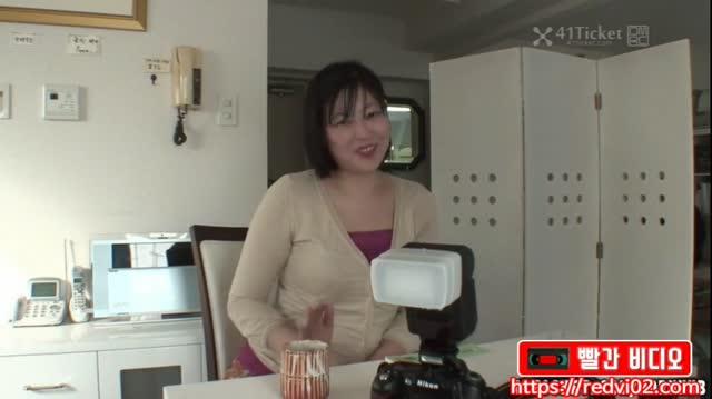 [일본야동] 육덕진 누님의 예민한 보지