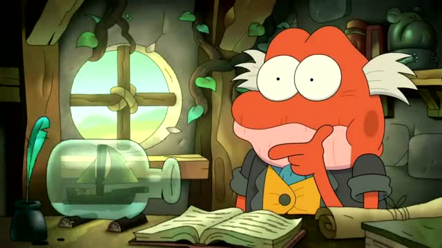 Amphibia Temporada 02 Capitulo 18 - Bessie & MicroAngelo/ The Third Temple