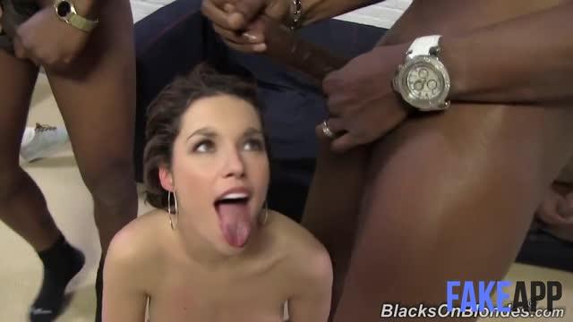 Shania Twain Eats Cum From BBC