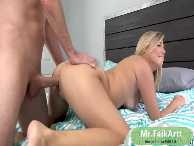 Anna Camp Enjoys Sex On Bed