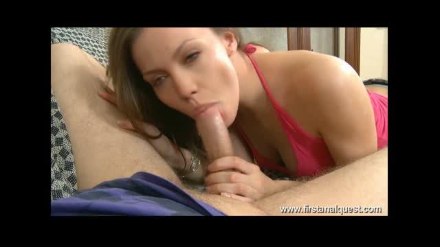 Angelina Jolie Cute Blowjob